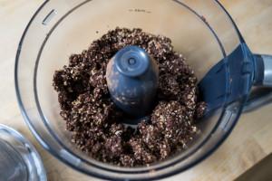 Rå chokoladekage med hasselnøddecreme-9583