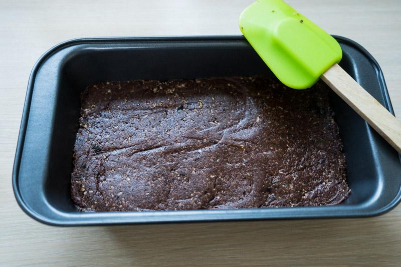 Rå chokoladekage med hasselnøddecreme-9584