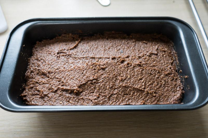 Rå chokoladekage med hasselnøddecreme-9590