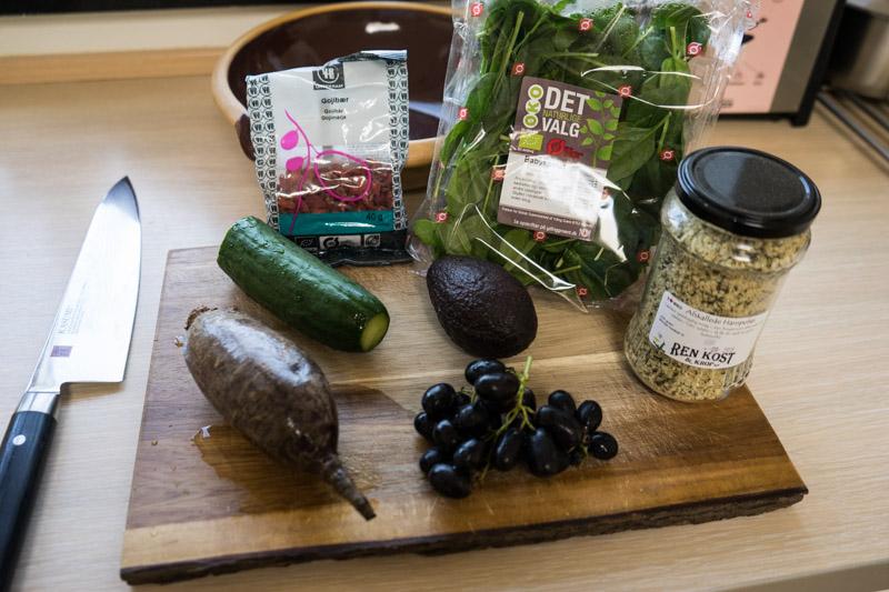 Rødbede- og spinatsalat med hampefrø-9194
