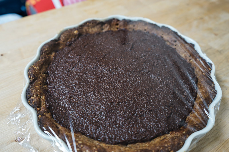 Chokolade-jordbær tærte-9796