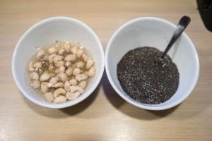 Budding med lucumapulver og hindbær coulis -3435