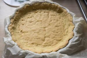 Glutenfri porretærte med spinat og tofu-3580