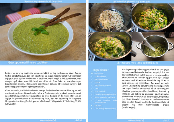 Ny e-bog med aftensmadsopskrifter