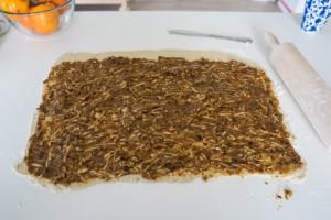 Glutenfrie og veganske kanelsnegle med æble-3682