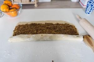 Glutenfrie og veganske kanelsnegle med æble-3683