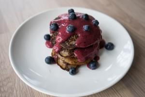 Glutenfrie, veganske, amerikanske pandekager-3905