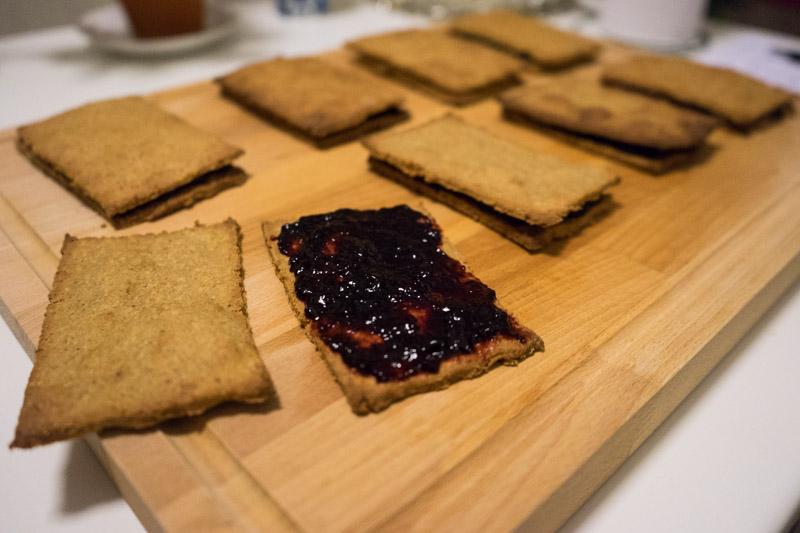 Glutenfrie og veganske blåbærsnitter-4781