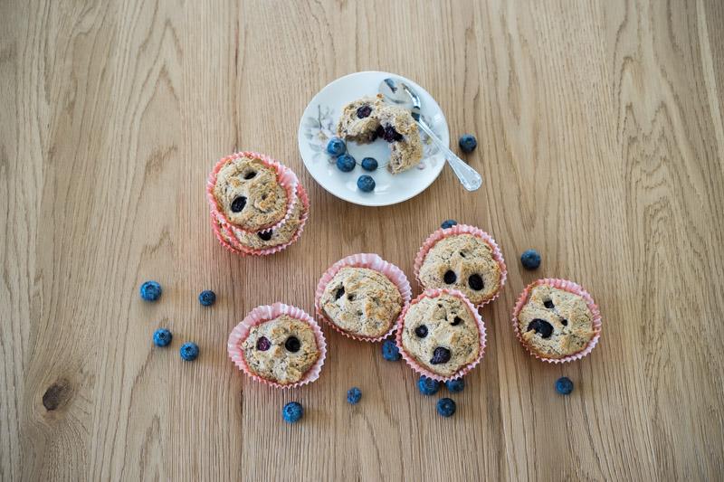 Veganske og glutenfrie blåbærmuffins-5299