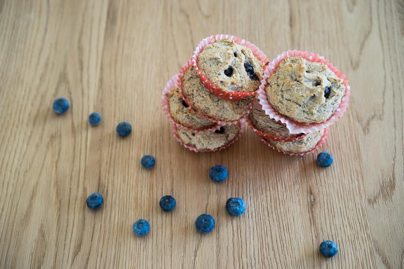 Veganske og glutenfrie blåbærmuffins-5306