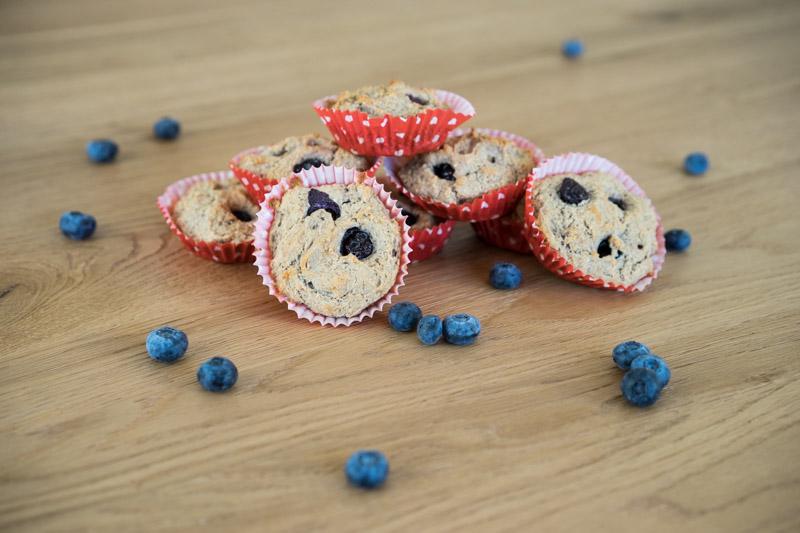Veganske og glutenfrie blåbærmuffins-5317