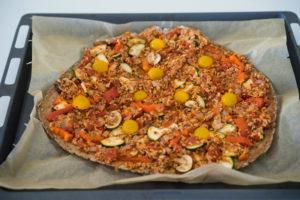 Glutenfri og vegansk pizza-6626