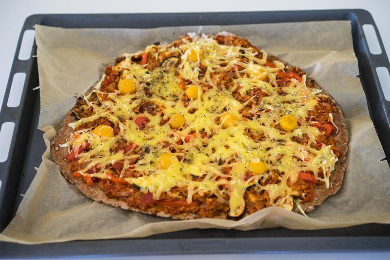 Glutenfri og vegansk pizza-6629