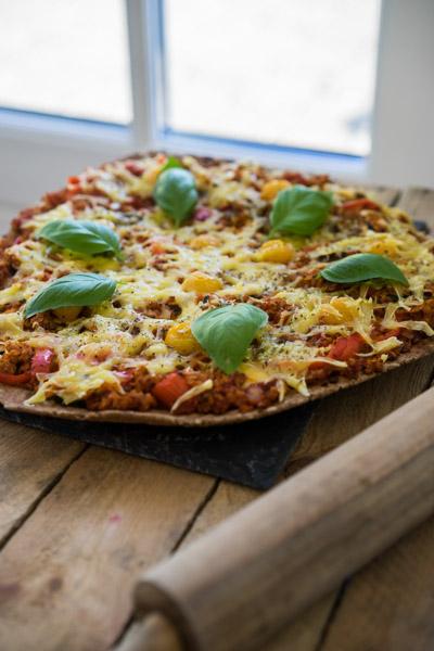 Glutenfri og vegansk pizza-6646