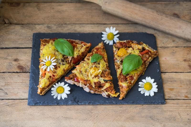 Glutenfri og vegansk pizza-6650