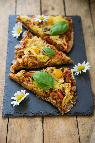 Glutenfri og vegansk pizza-6652