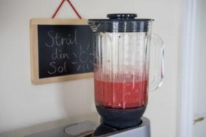 Sund is med jordbær og hyldeblomster-6478