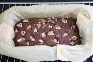 Glutenfri og vegansk chokoladekage-6747