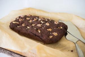 Glutenfri og vegansk chokoladekage-6748