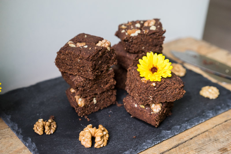 Glutenfri og vegansk chokoladekage-6753