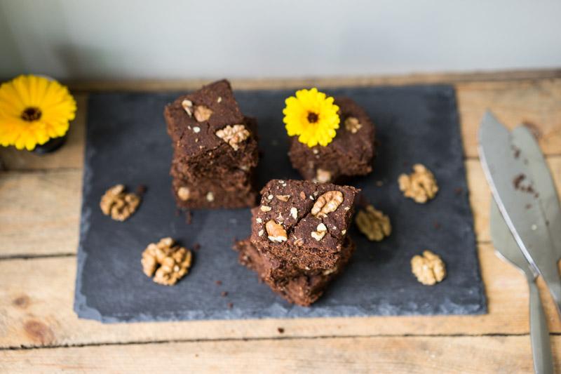 Glutenfri og vegansk chokoladekage-6768