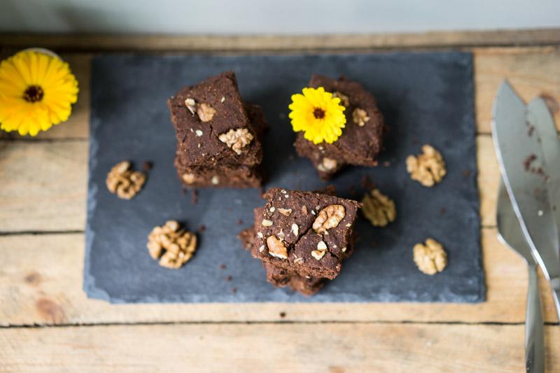 Glutenfri og vegansk chokoladekage-6770