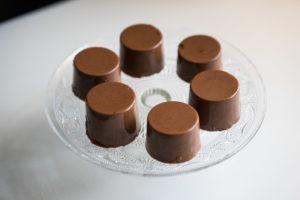 Vegansk chokolade panna cotta-6709
