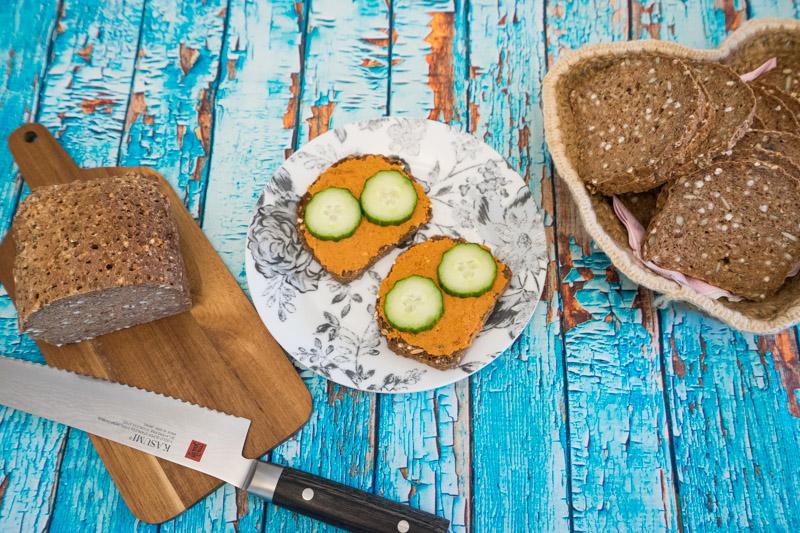Glutenfrit og vegansk rugbrød