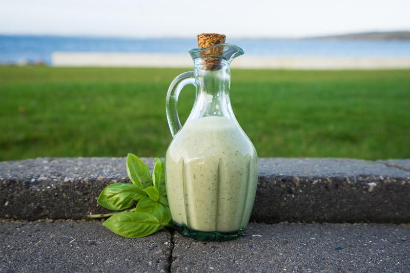 Grøn salatdressing